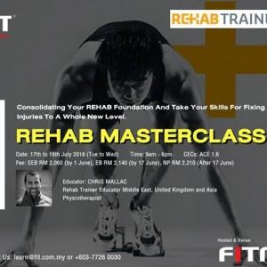 Rehab Masterclass