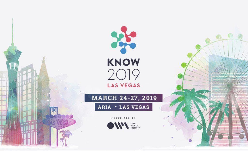 KNOW 2019 Vegas