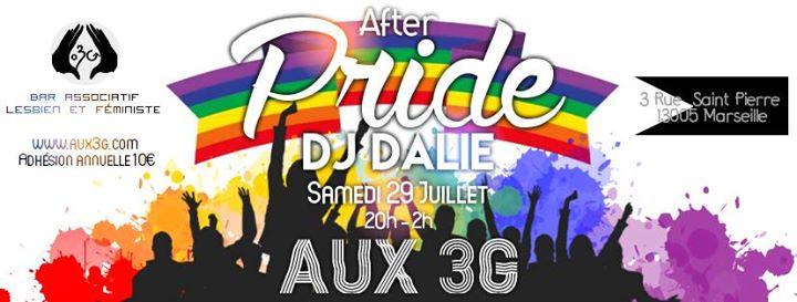After Pride Marseille DJ Dalie