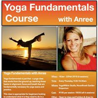 Yoga Fundamentals Course with Anree