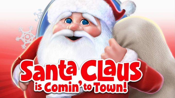 Movie night free santa claus is comin to town! at knightsville