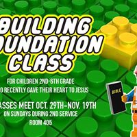Building Foundations Class