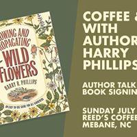 Coffee &amp Tea with Author Harry Phillips