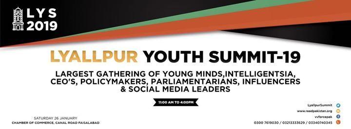 Lyallpur Youth Summit 2019