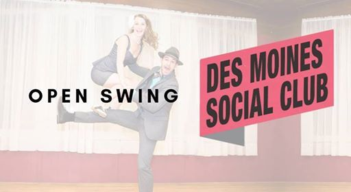 Open Swing Dancing at Des Moines Social Club, Iowa