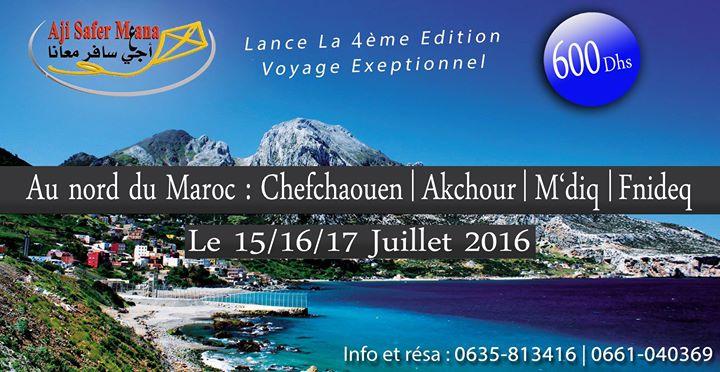 voyage maroc juillet 2016