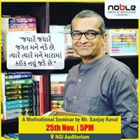 Motivation Seminar By Sanjay Raval