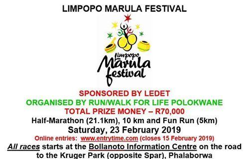 Limpopo Marula Festival 21.1 10 & 5km