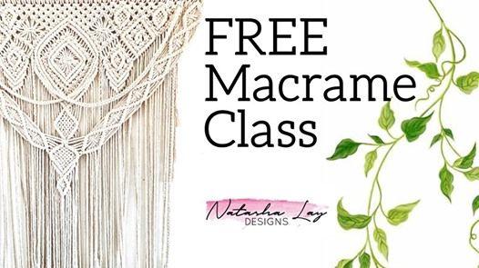 Free Macrame Class at Bunbury Centre Point Shopping Centre, Bunbury
