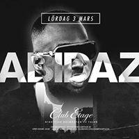 Abidaz &amp N Lrdag 3 Mars p Club Etage