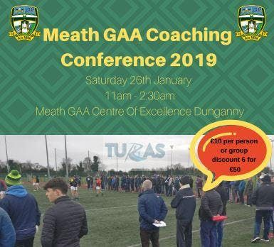 Meath GAA Coaching Conference 2019