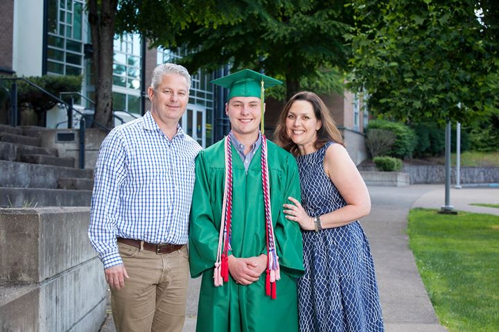 Cap and Gown Photos at WLHS Baccalaureate | west linn