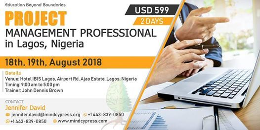 Project Management Professional (PMP) Certification Course at Hotel ...