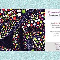 Nihongo Bin Kimono &amp Kitsuke Workshop