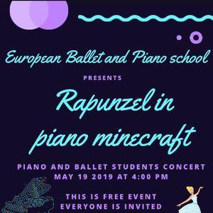 Rapunzel In Piano Minecraft At Arizona Christian University Phoenix