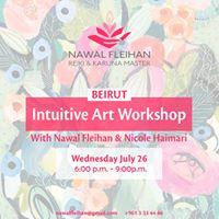 Intuitive Art Workshop  Beirut