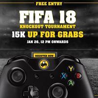 FIFA 18 Knockout Tournament