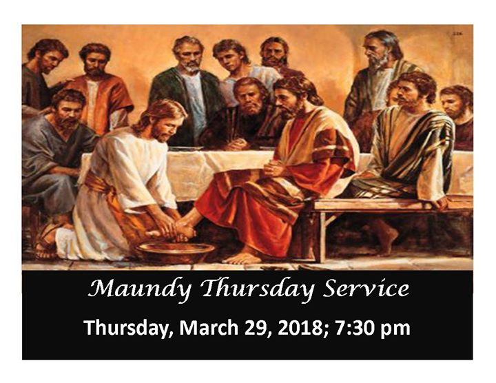 Maundy Thursday Service at St. Andrew's Hespeler ...