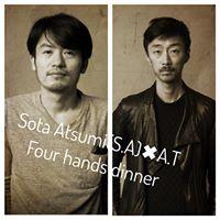 SOTA Atsumi(s.t)A.T POP UP Dinner 2days