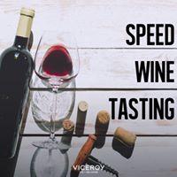 Speed Wine Tasting
