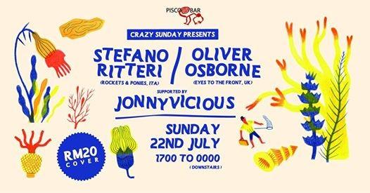 Crazy Sunday pres. Stefano Ritteri & Oliver Osborne