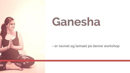 Ganesha - workshop med Julie 3