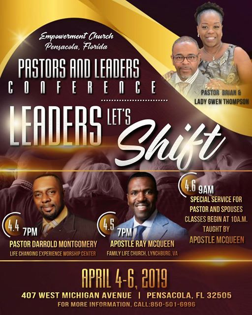 Pastors & Leaders Conference 2019 at Empowerment Church