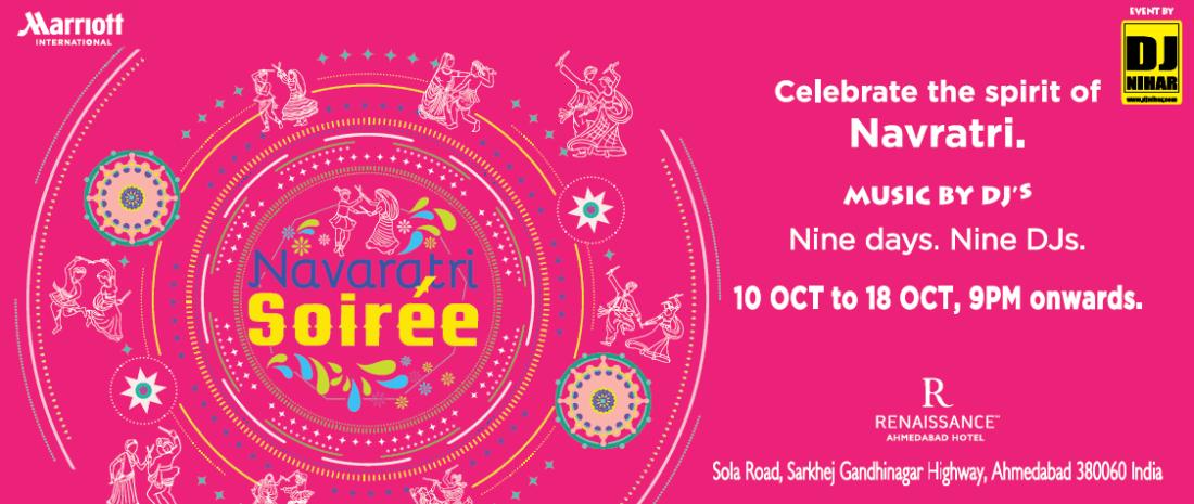 Navratri Soiree by DJ Nihar at Renaissance by Marriott