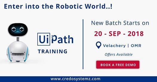 UiPath Certification Course at Credo Systemz, Chennai
