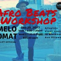 Afro Beats Workshops with Melo from UpLift Official