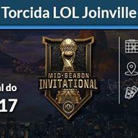 Torcida LOL Joinville MSI 2017  We Ward e-Sports