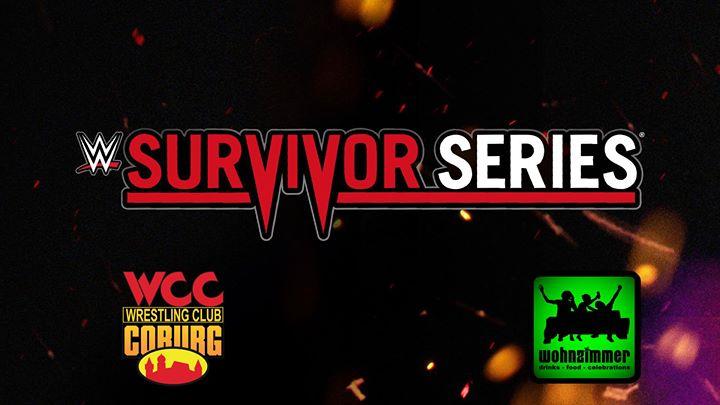 WWE Survivor Series LIVE At Wohnzimmer Bar Coburg