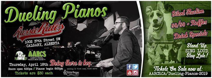 AARCS Dueling Pianos 2019 at Aussie Rules Piano Bar Calgary