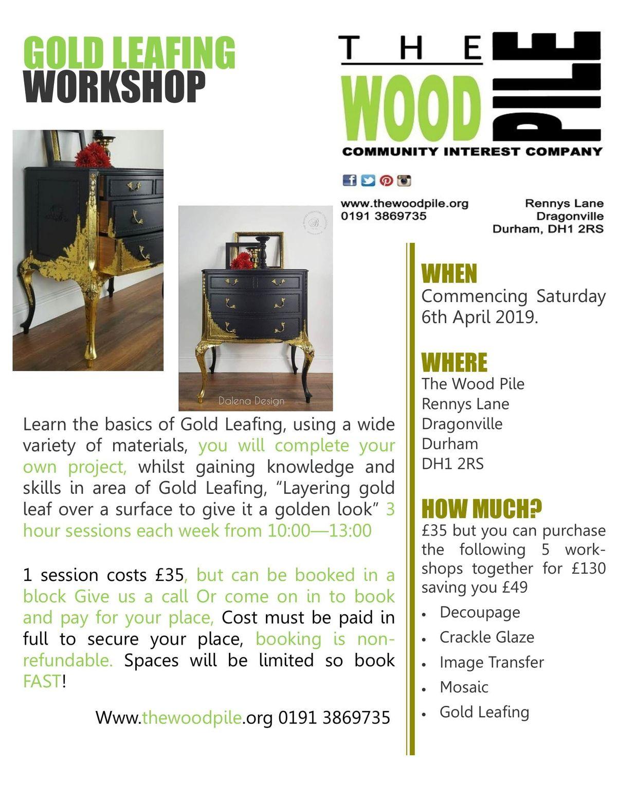 Gold Leafing Workshop