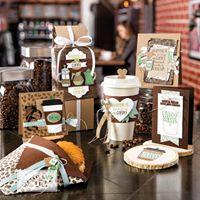 Classe de produits StampinUp avec la collection Pause Caf