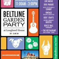 Free Beltline Garden Party at Lougheed House