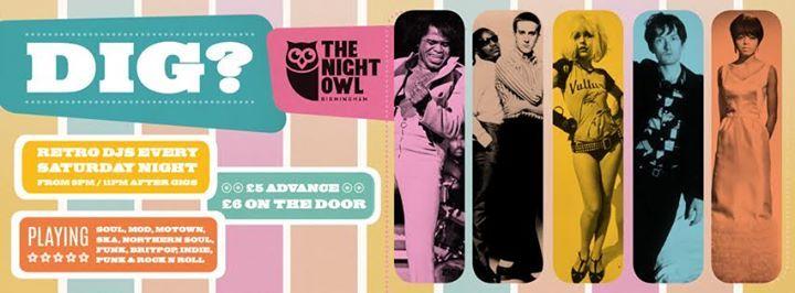 Dig Soul & Retro Club Night with Randy Billings & Joel Webster