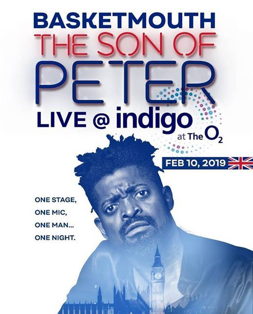 Basketmouth Son of Peter - London One Man Show