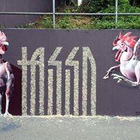 Graffiti Workshop mit Tasso und Brinstorm