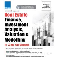 Real Estate Finance Investment Analysis Valuation &amp Modelling