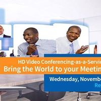 HD VIDEO CONFERENCING AS-A-SERVICE (VCaaS)
