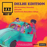 Gaysi Presents 2x2 Bar Meet-up Delhi Edition