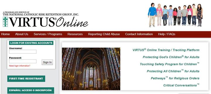 Virtus Certification Training – Protecting All God\'s Children | san jose