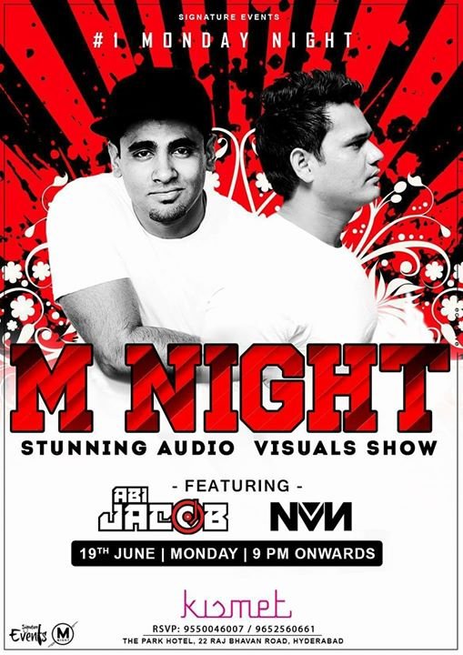 Audio Visual M Nite at Kismet (19th june Monday )