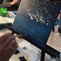 Learn to Paint Series Aurora Borealis