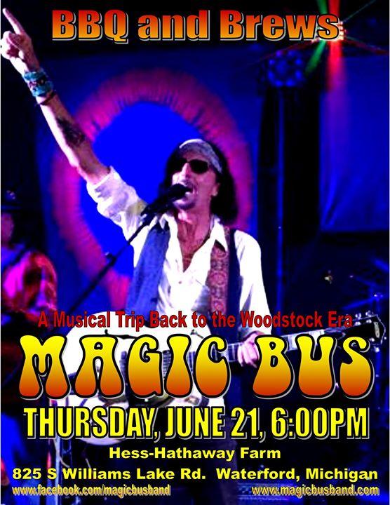 BBQ & Brews Magic Bus Concert