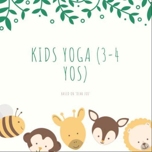 Kids Yoga(3-4 yos) based on Dear Zoo