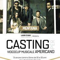 Casting per videoclip musicale dei &quotMentana&quot