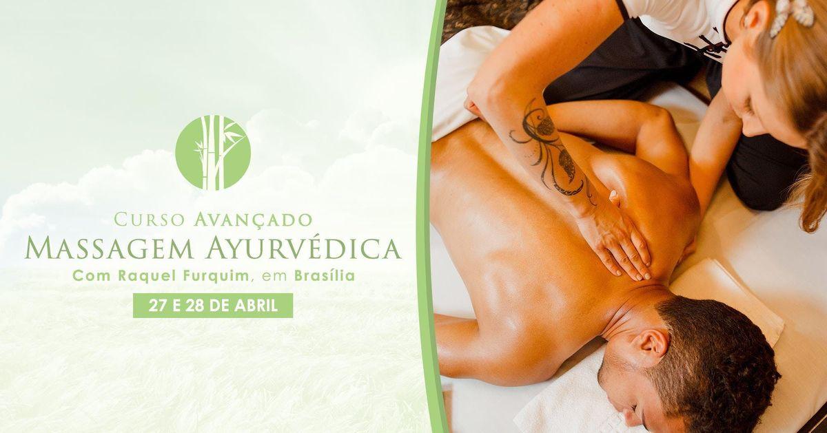 Curso de Massagem Ayurvdica Braslia - Avanado