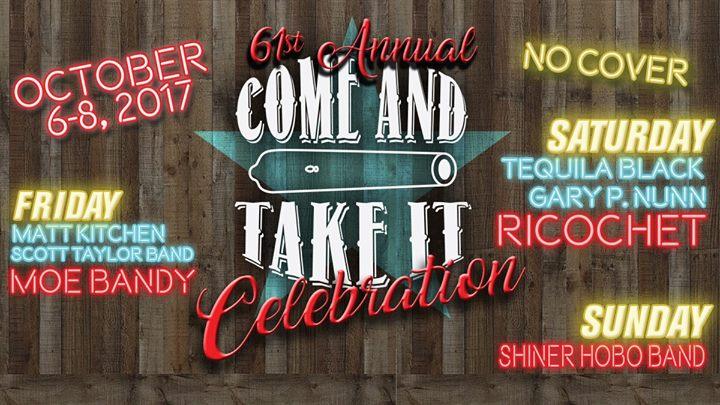 Come and Take It Celebration 2017